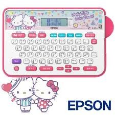 EPSON HELLO KITTY LW 220DK 標籤機含稅專案包 兩盒標籤帶情人送禮