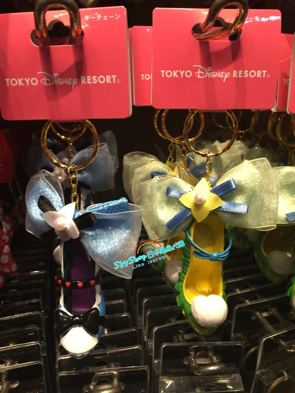 東京迪士尼樂園限定 公主高跟鞋鑰匙圈白雪公主睡美人長髮公主灰姑娘阿拉丁小美人魚米妮黛西小精