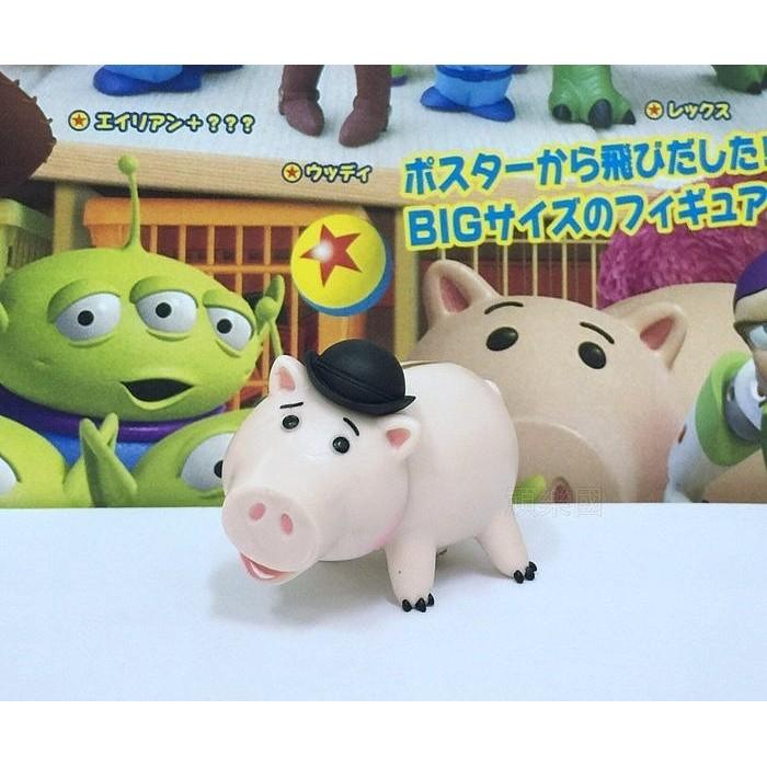 ~頑樂國~玩具總動員3 人物場景組 集2 單售火腿豬撲滿豬T ARTS 扭蛋轉蛋皮克斯