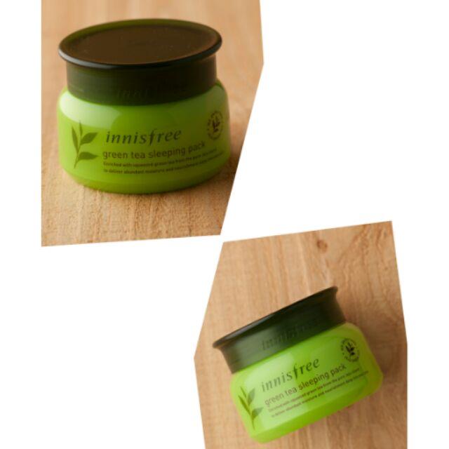韓國innisfree 綠茶睡眠面膜