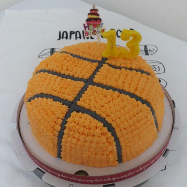 蛋糕球類(籃球