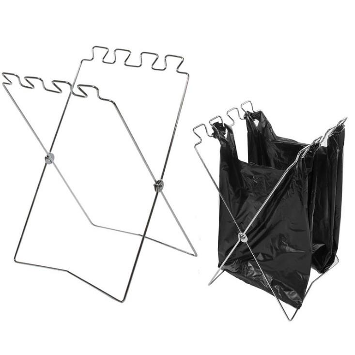垃圾袋架~輕鬆分類~可折疊便攜式居家戶外辦公室 !露營野餐野營垃圾袋掛架分類架