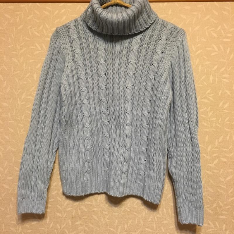 厚針織毛衣三色簡約保暖