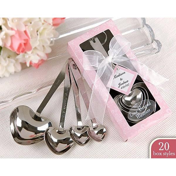 35 組愛心量勺4 件組婚禮小物送客禮活動禮湯匙四件組HP18QQ 跟賣場的 混搭唷