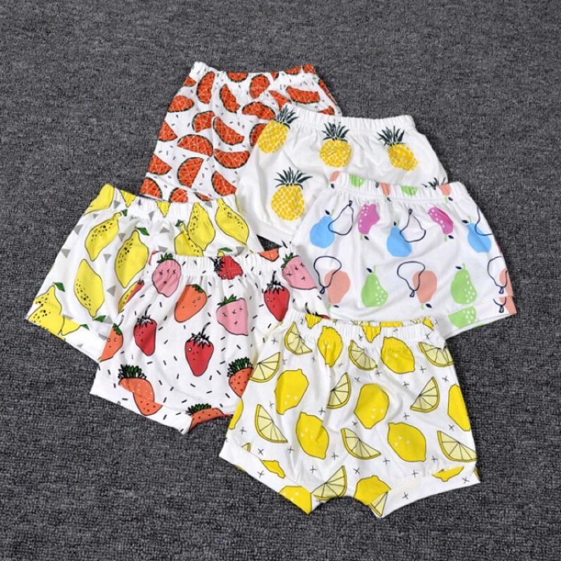 Ins 爆款活力滿點水果系列兒童短褲