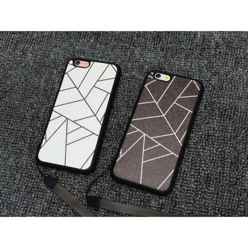(部分现货 )蠶絲紋蘋果手機殼iphone5 5s se 全包軟殼i6 6s 掛繩防摔i6