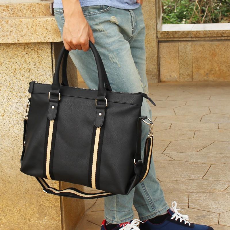 男包商務單肩包斜挎手提包電腦男式 旅行包男士包袋