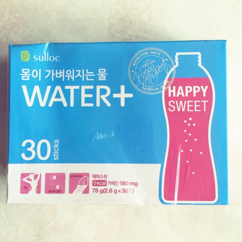 韓國O Sulloc water 纖體健康水西柚口味30 包入