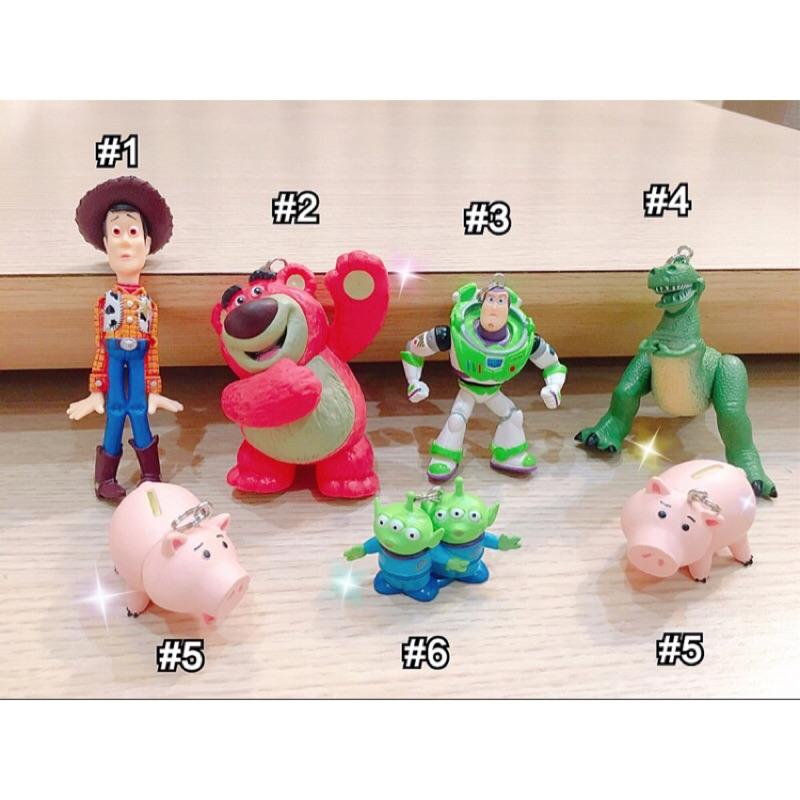 加字母珠 迪士尼玩具總動員火腿豬抱抱龍胡迪巴斯三眼怪客製化吊飾請勿盜圖