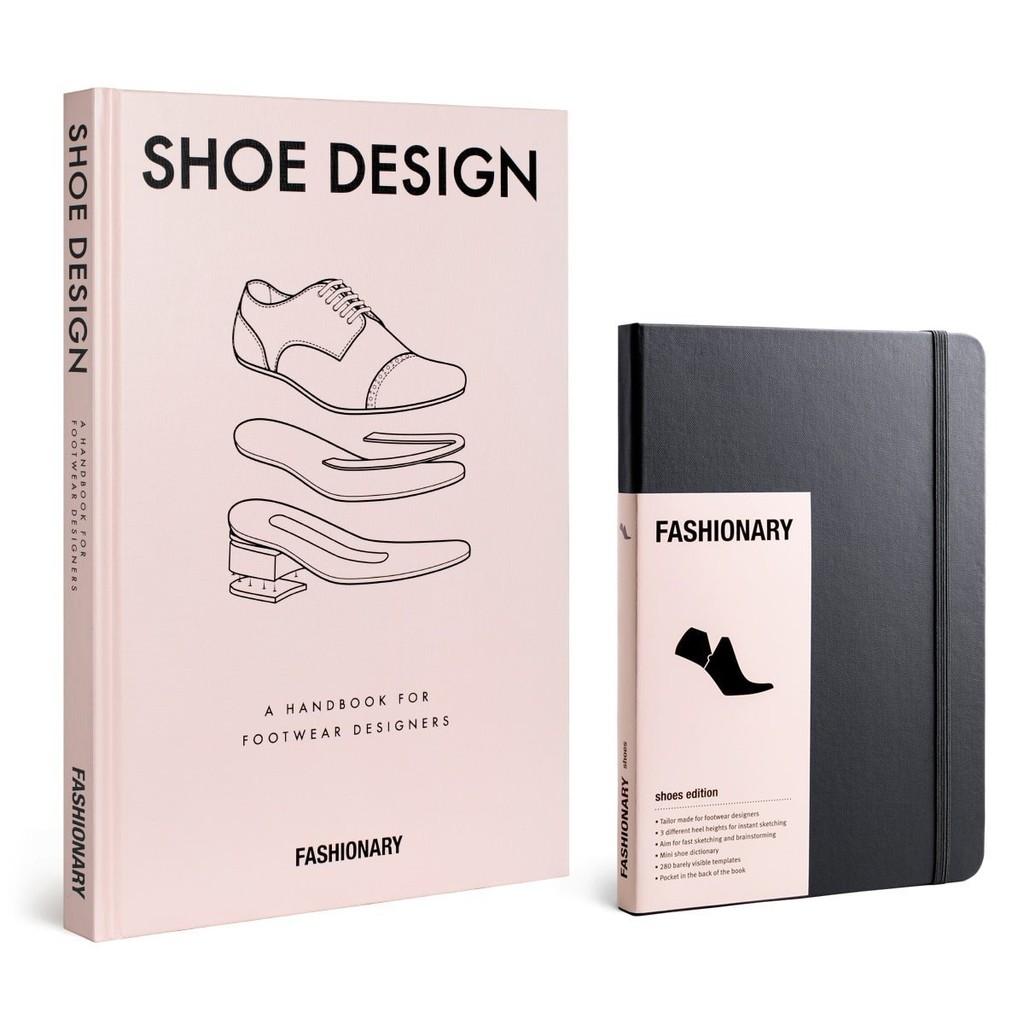 Fashionary Shoe Design Book Shoe Sketchbook