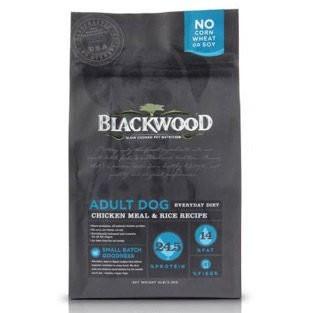 愛拼樂美國BLACKWOOD 柏萊富特調成犬活力配方雞肉米5 磅