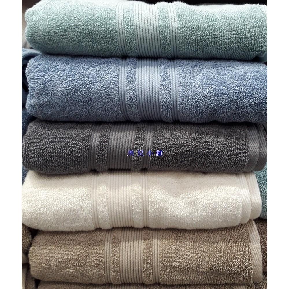 美兒小舖COSTCO 好市多 ~GRANDEUR 印度 純棉浴巾76x147cm 1 入