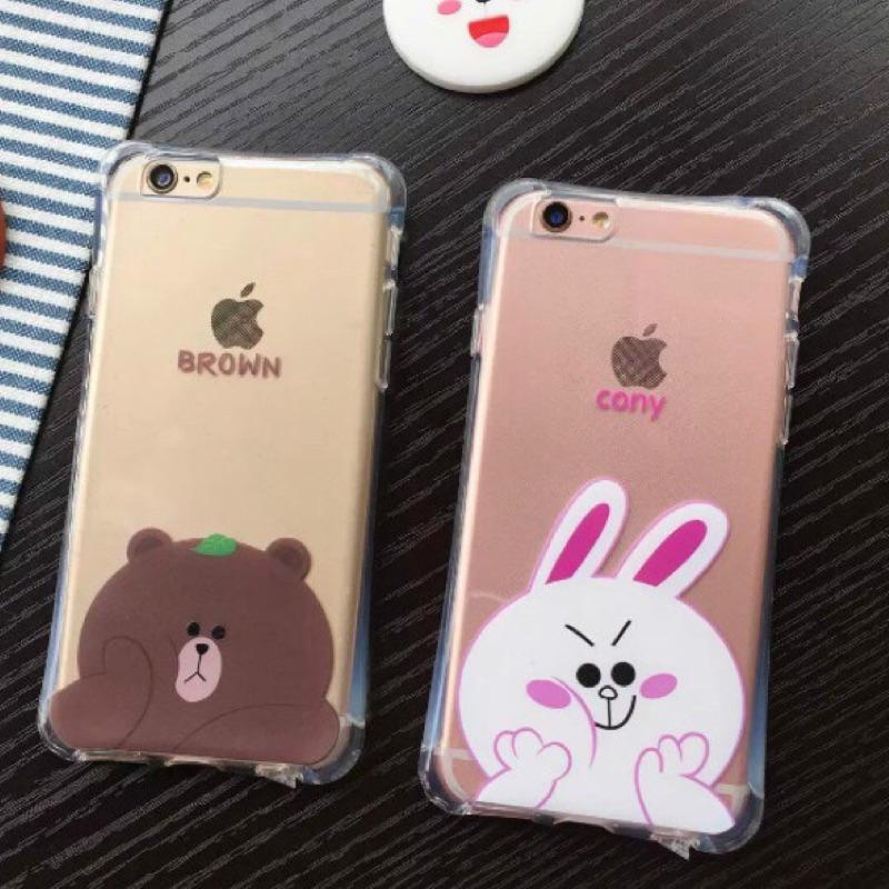 Iphone6 6plus 氣墊防摔手機殼熊大氣墊手機殼熊大手機殼iphone5 兔兔手機