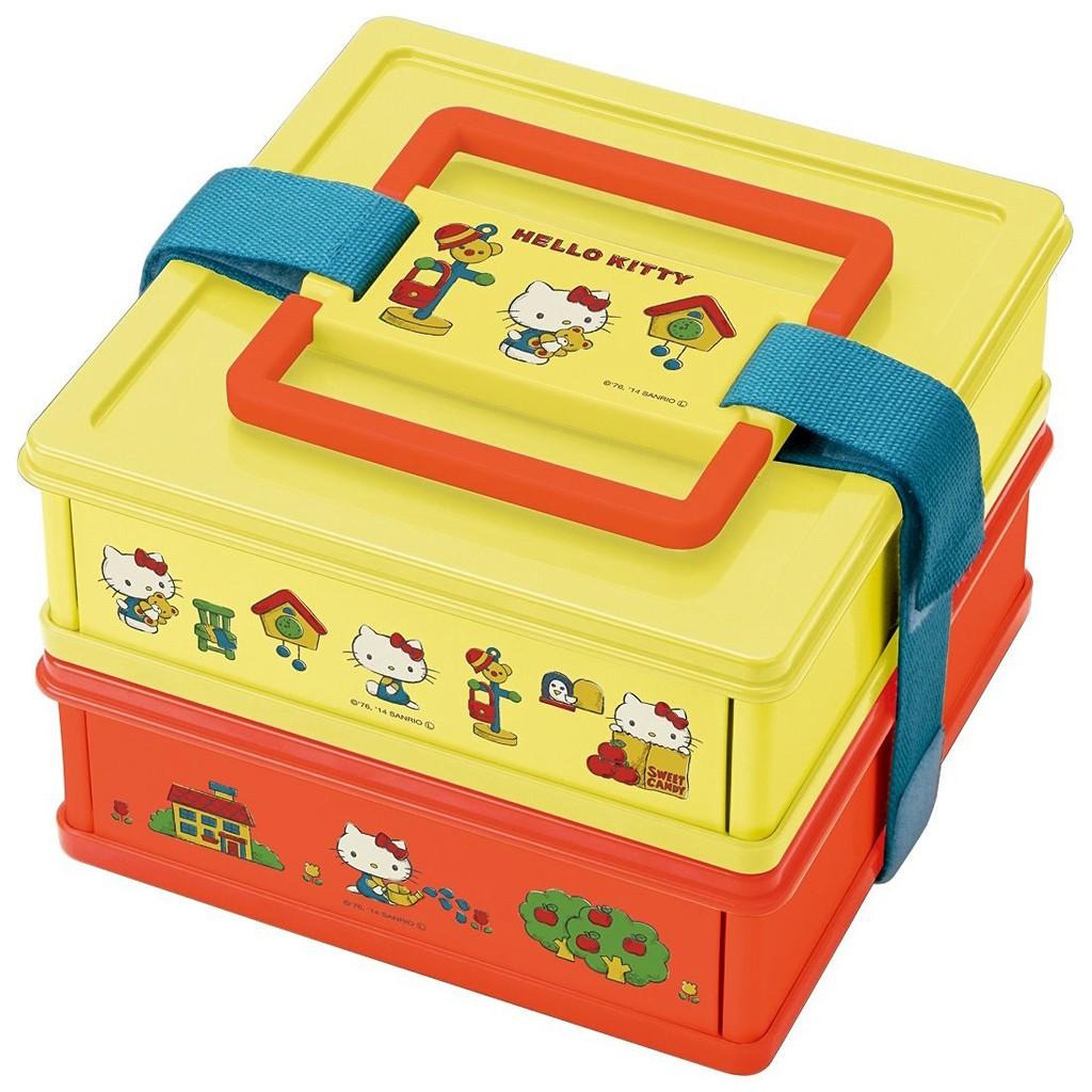 帶回 Hello Kitty 折疊野餐盒便當盒 製