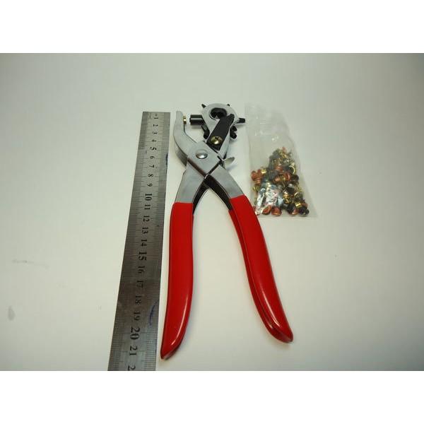 二用打洞機雞眼鉗表帶包包打孔機贈雞眼扣100 個5 種尺寸大小方便MIT ~3A 小舖~