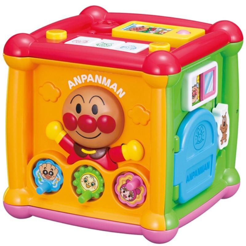 直送 ANPANMAN 麵包超人知育玩具五面遊戲盒