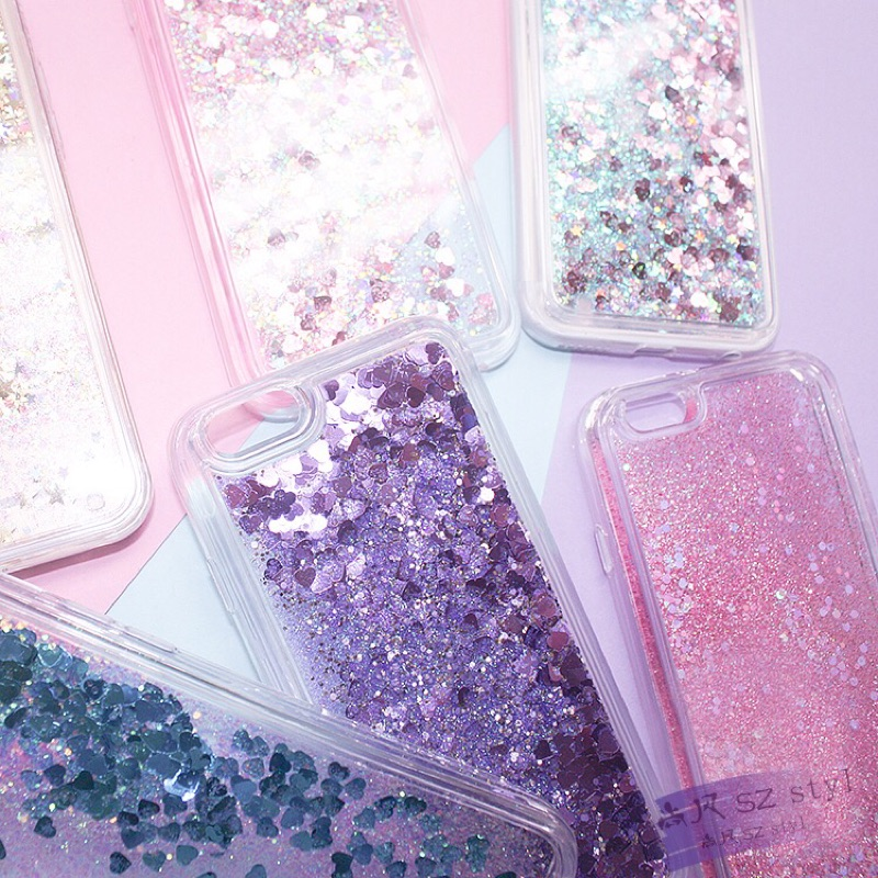 日韓 流沙蘋果iphone 6S 手機殼6plus 保護套女款日韓粉液體防摔套