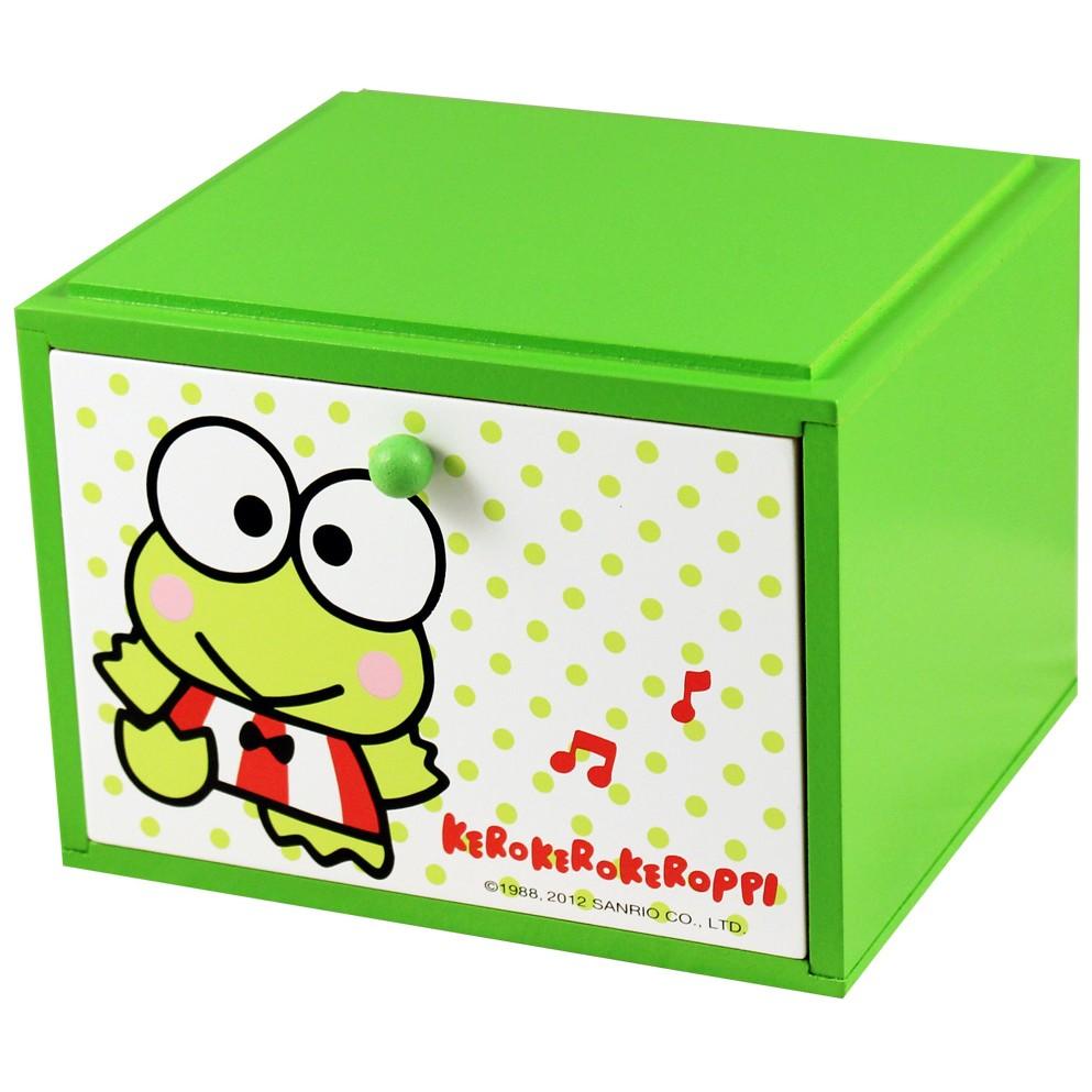 大眼蛙單層收納盒