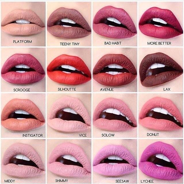 Colourpop Ultra Matte Lips 霧面液態口紅~ 區~