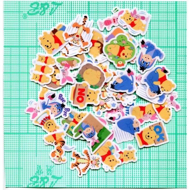 小熊維尼和他的好友自制手帳相册裝飾貼紙40 張562