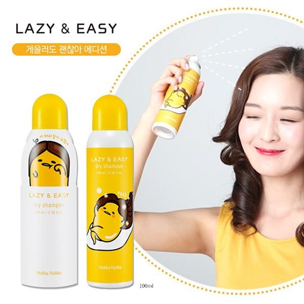 韓國Holika Holika 蛋黃哥乾洗髮噴霧100ml 款式 乾洗髮乾洗頭