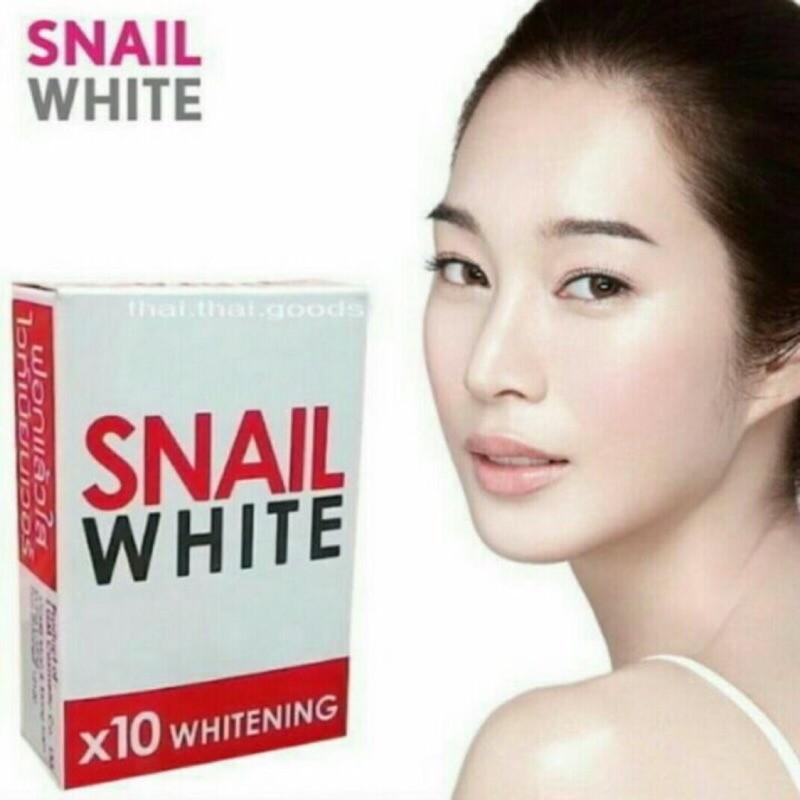 泰國 Snail White 美白抗痘蝸牛皂70g