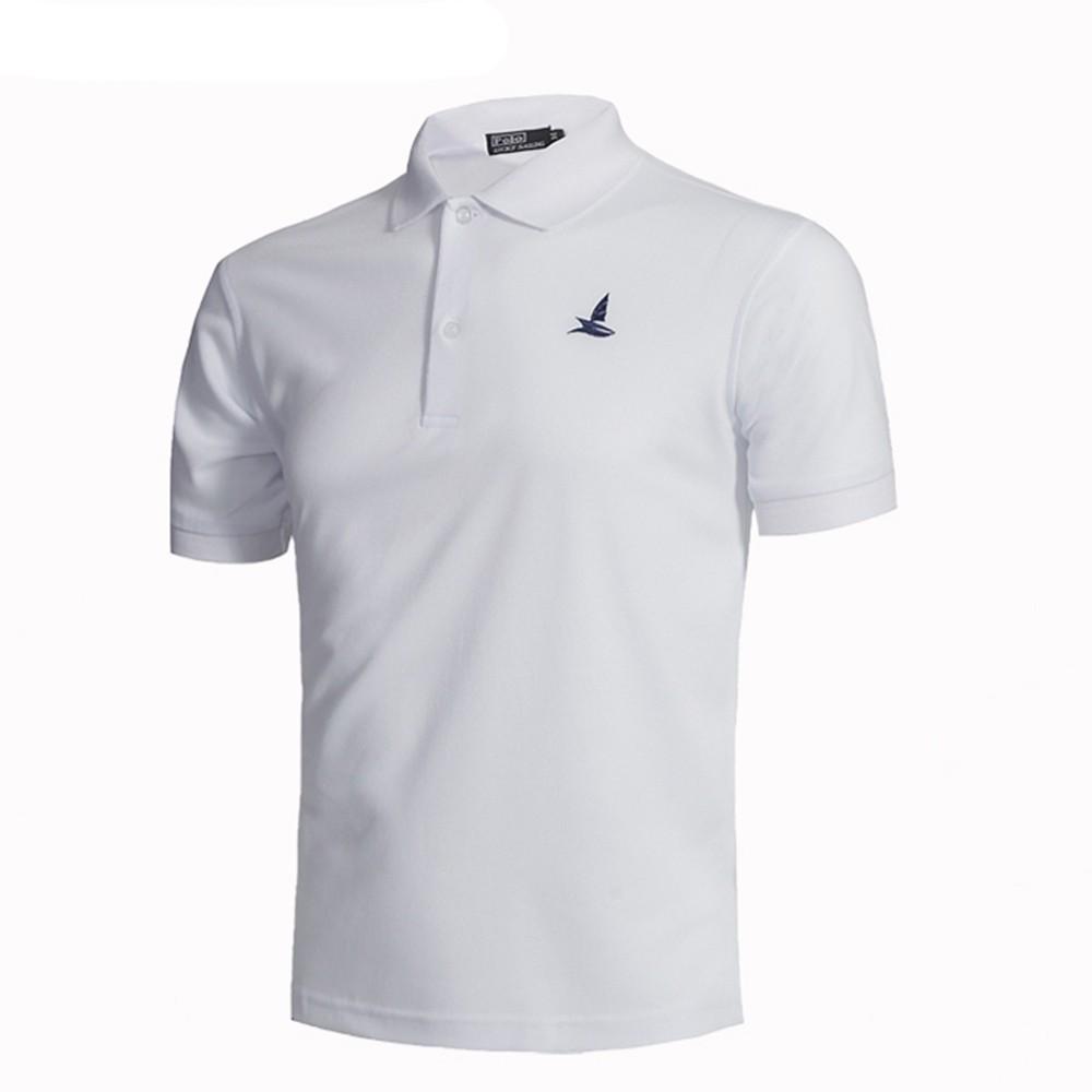男裝 大碼男士翻領 短袖t 恤Polo 衫CSL01p 白色(XXL 碼)