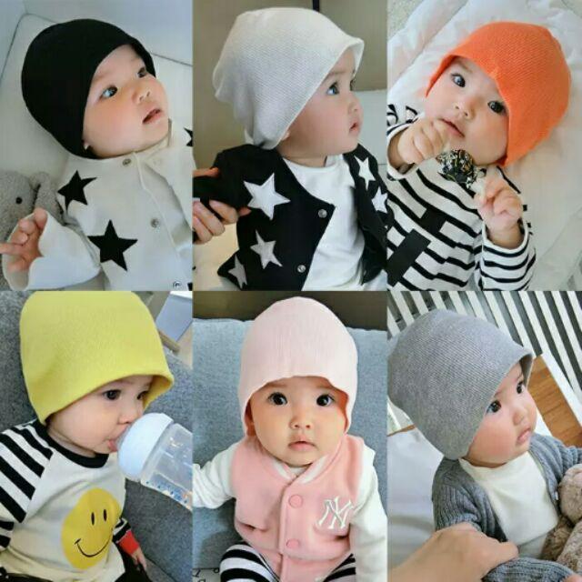 Mita kids 嬰兒新生兒螺紋帽子