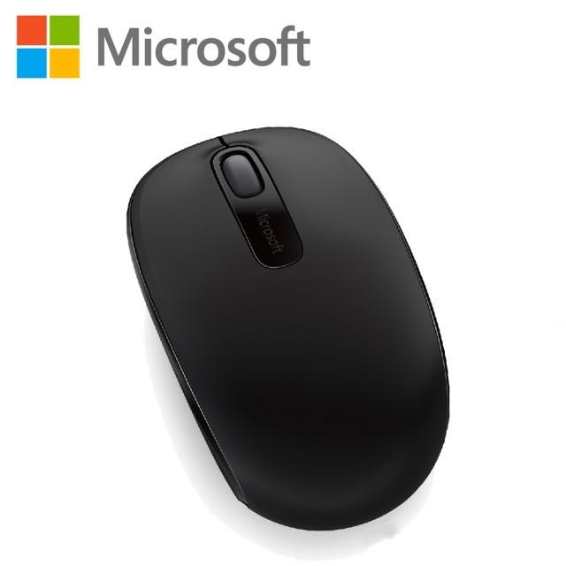 ~微軟~Microsoft 無線行動滑鼠1850 削光黑