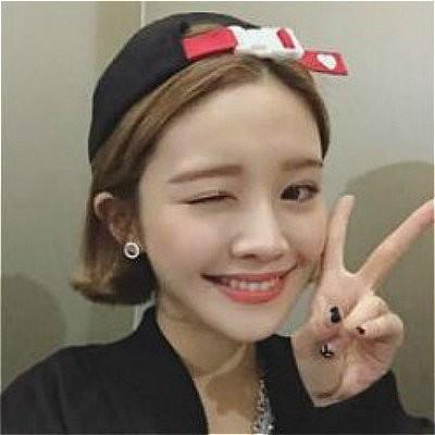 韓國 LOVE FOREVER 字母可愛愛心馬卡龍糖果色刺繡彎檐休閒鴨舌帽潮流嘻哈棒球帽彎
