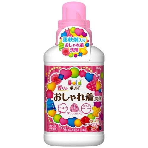 ~lilicoco 無限~~ 製P G BOLD 護色防縮柔軟洗衣精莓果花香500ml ~