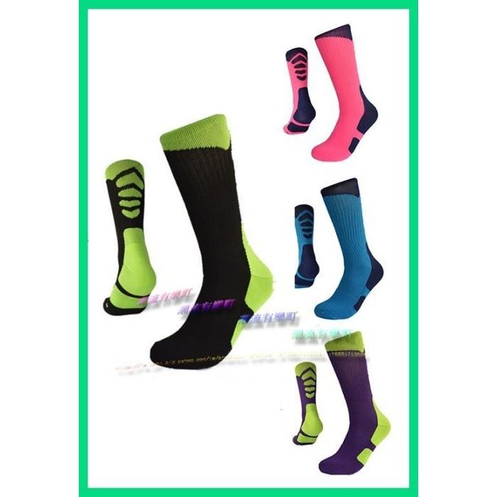 星際大戰STAR WARS 未來戰士風格配色 區分左右腳毛巾底吸汗抗震籃球襪 襪中筒襪精英