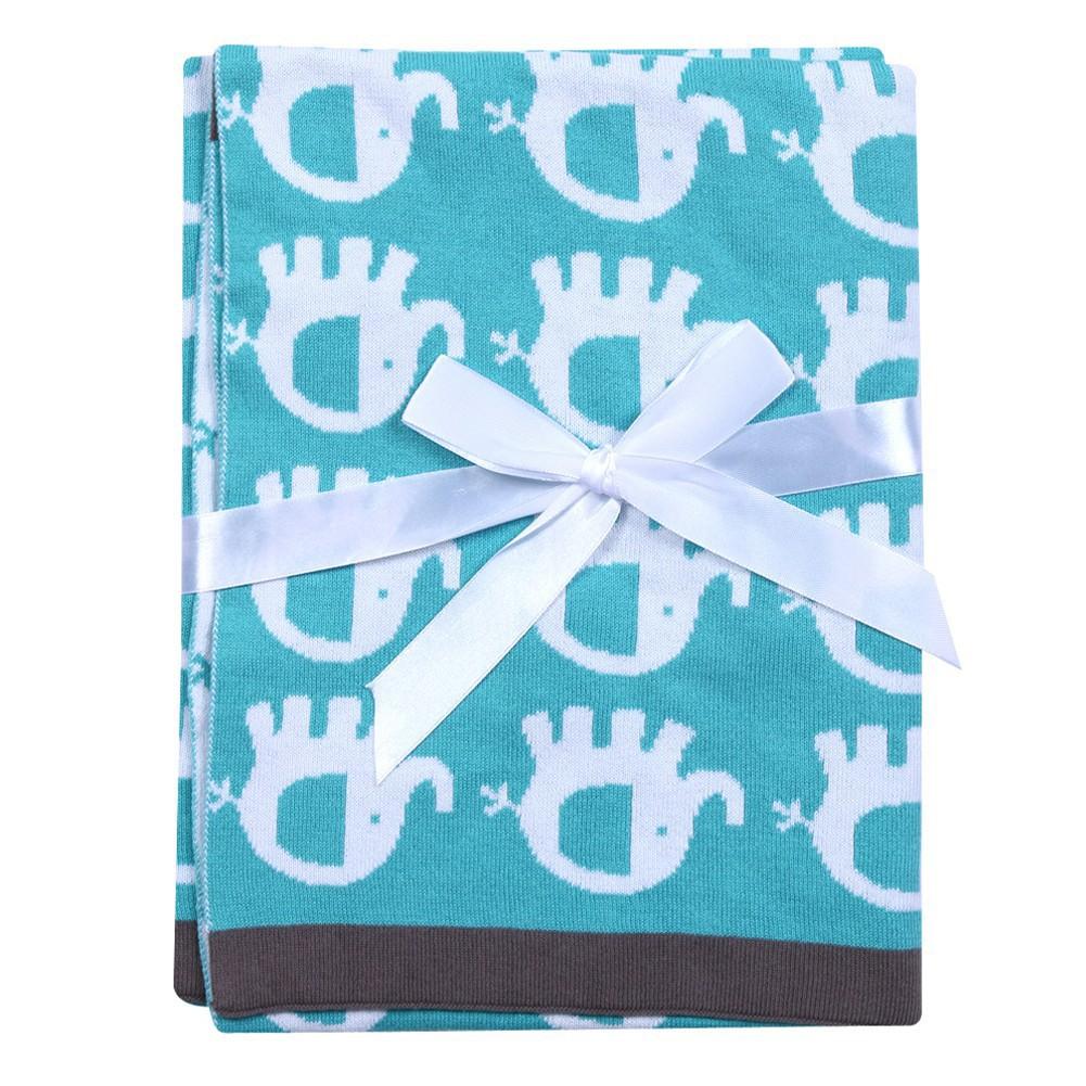 卡通嬰兒毯毛巾被嬰兒苗圃棉印花毯子