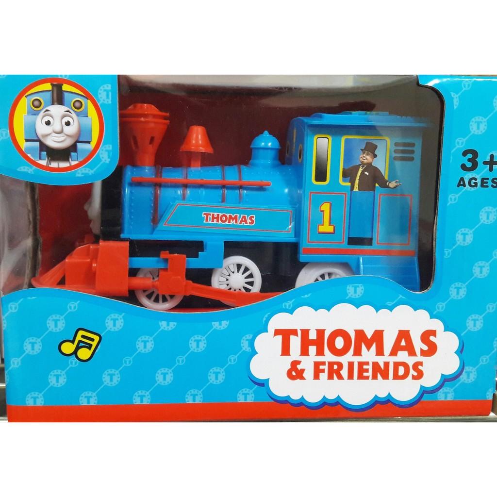 ❤白兔朵朵❤~聲光音樂~萬向湯瑪斯火車頭兒童電動火車玩具合金車模型玩具燈光音樂兒童益智玩具