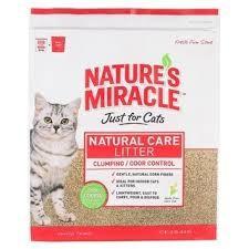 美國8in1 自然奇蹟玉米砂10 磅無粉塵無毒會凝結可沖馬桶環保砂