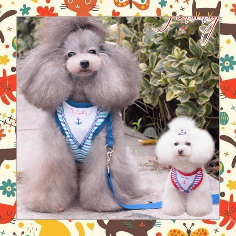 PETSTYLE 寵物用品 寵物用品牽引繩狗狗鏈狗繩全棉背心牽引帶寵物胸揹帶 潮牌