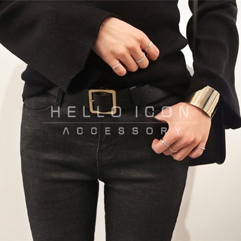 HelloIcon 簡約 潮流氣質百搭十件組關節戒戒指指環