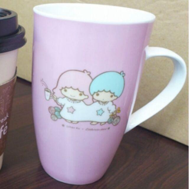 雙子星馬克杯粉藍各一