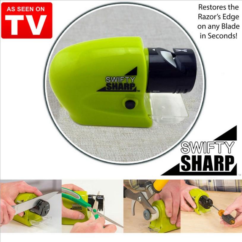 萬用電動全自動磨刀器swifty sharp 各種刀具工具剪刀都