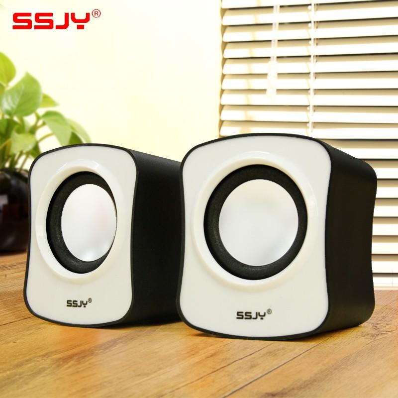 SSJY S 82 筆記本臺式機電腦音響便攜迷你2 0 小音箱USB 低音炮喇叭