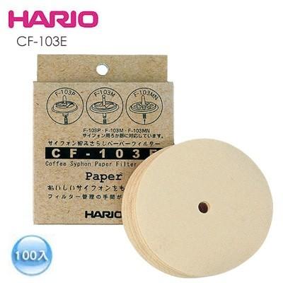 咖啡雜貨OOOH Coffee HARIO CF 103E 無漂白濾紙100 入適NCA