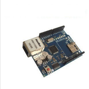 ~UCI 電子~11 7 Arduino Ethernet W5100 網絡擴展板SD 卡
