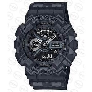 國外 CASIO G SHOCK GA 110TP 1A 圖騰黑雙顯防水手錶腕錶電子錶男女