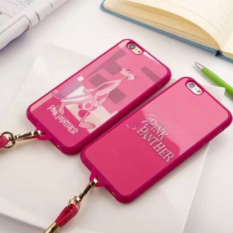 ~星象Star ~pink 粉紅頑皮豹iPhone 6 6s 6plus 5s se 手機