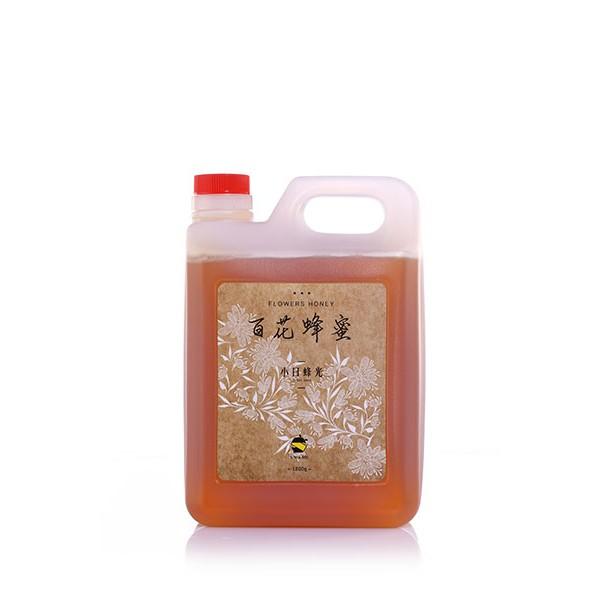 小日蜂光3 台斤本土百花蜂蜜