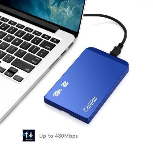 """超薄2 5 """"USB V2 0 SATA HDD 硬盤磁盤外接盒為新PC"""