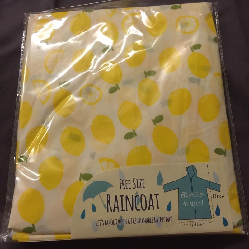 ( 帶回 不必等)可愛檸檬雨衣