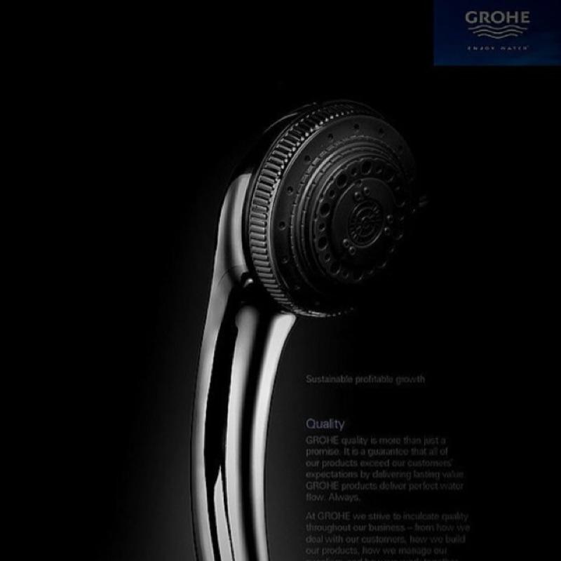 全賣場最 德國GROHE 七 增壓手持花灑淋浴噴頭蓮蓬頭花灑噴頭