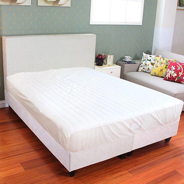思得登‧ 防蹣透氣床包式保潔墊(雙人150 186cm 製