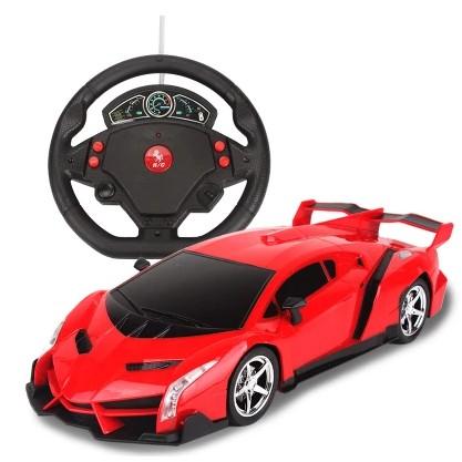 蘭博基尼遙控車充電跑車方向盤電動汽車模型賽車兒童玩具男孩漂移